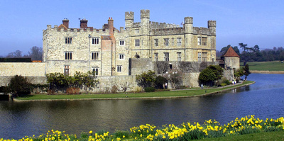 Leeds Castle in the Spring